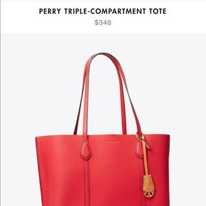 Perry Triple Compartment Tory Burch Tote